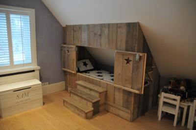 Slaapkamer Met Steigerhout : Steigerhouten slaapkamer ontwerpinspiratie steigerhouten meubelen
